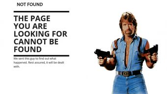 Don't fear 404 error pages, use them to your advantage