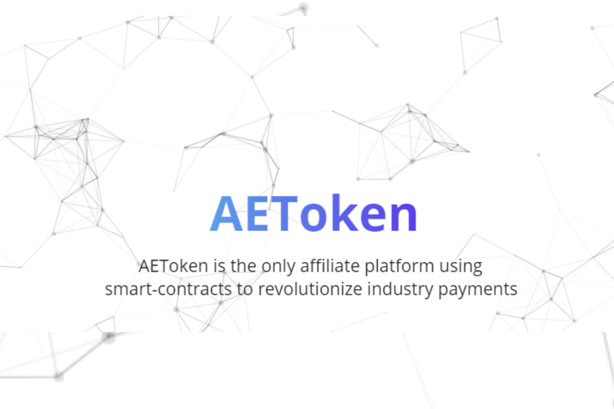 AEToken Affiliate Platform Wins Blockchain Pitch Competition for Best ICO 2018