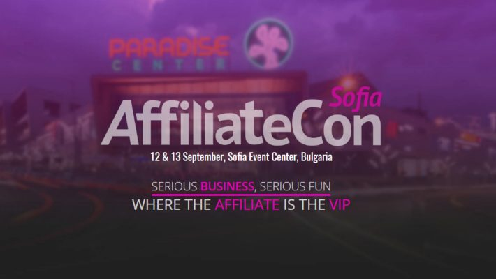 AffiliateCon Sofia – 12 & 13 September