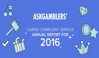 The AskGamblers Casino Complaint Service Annual Report for 2016