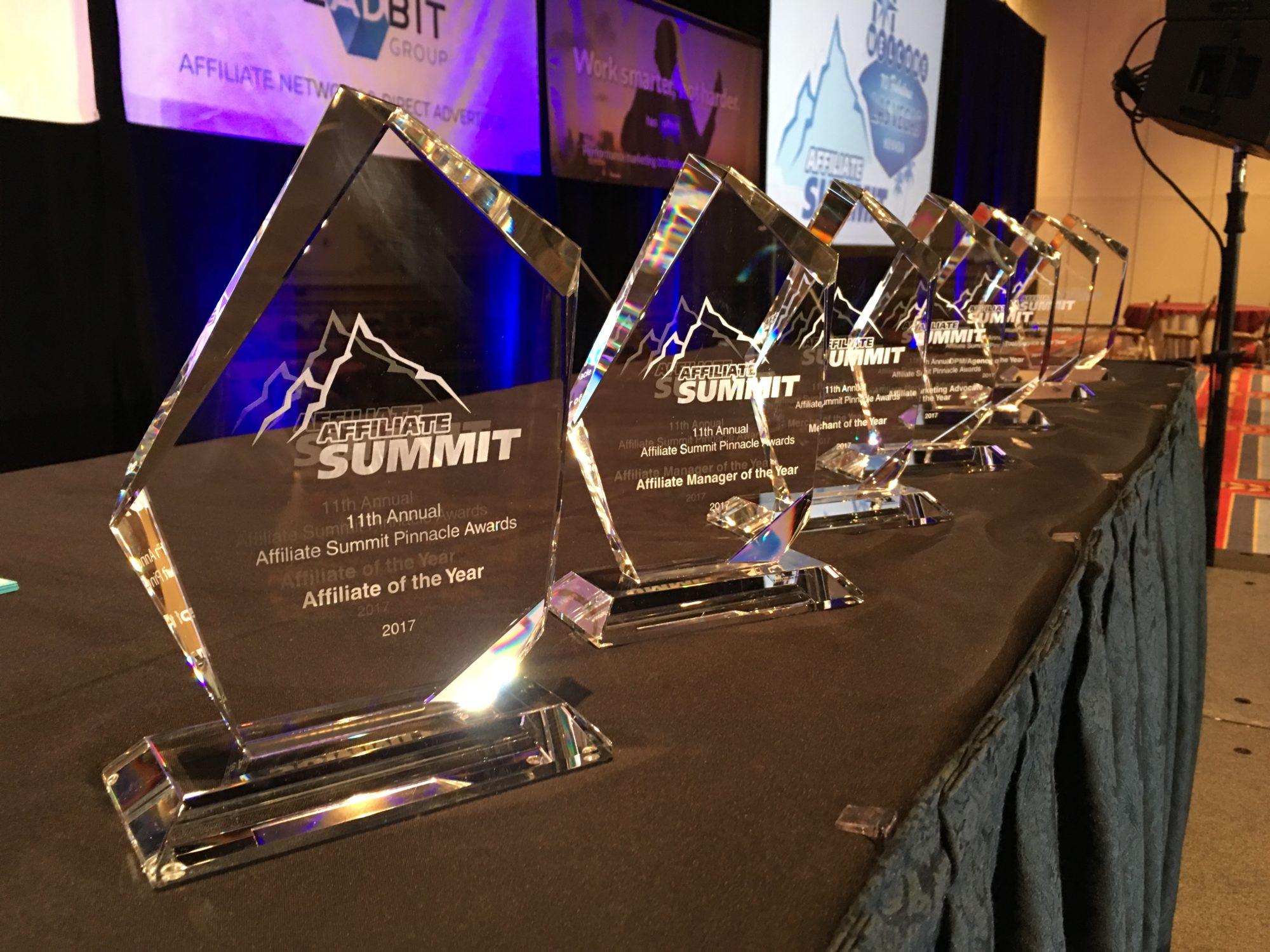 Affiliate Summit Pinnacle Awards