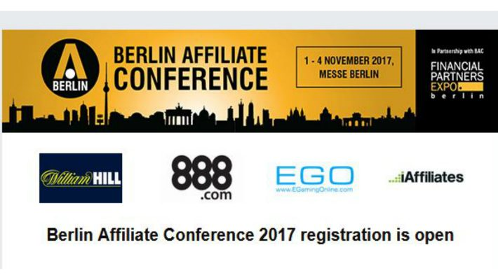 Register for the Berlin Affiliate Conference 2017