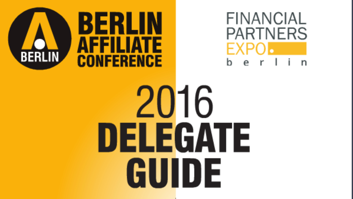 BAC and FPE 2016 Delegate Guide