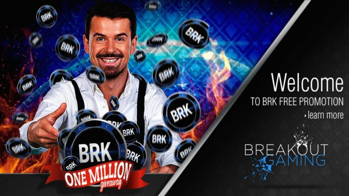 Breakout Gaming Group Announces 1 Million BRK FREE Coin Giveaway Promotion