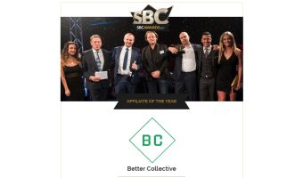 Better Collective named Affiliate of the Year at the SBC Awards 2017