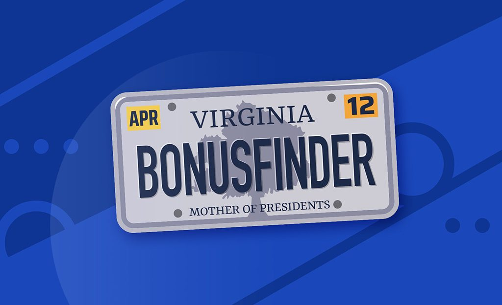 BonusFinder granted affiliate licence for Virginia