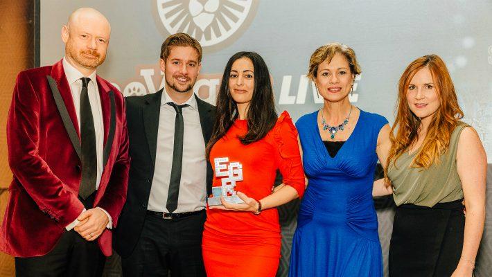 Hat-trick for LeoVegas at EGR Nordics Awards 2018