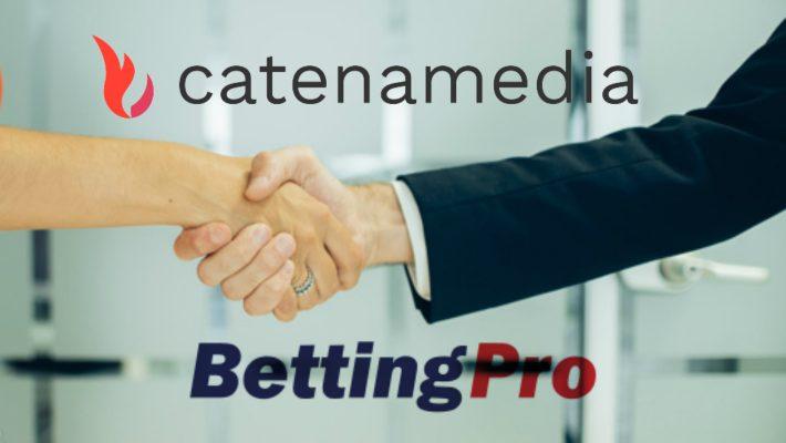 Catena Media acquires betting affiliate BettingPro.com