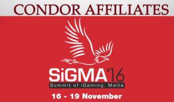 Condor Affiliates are heading to SIGMA 2016