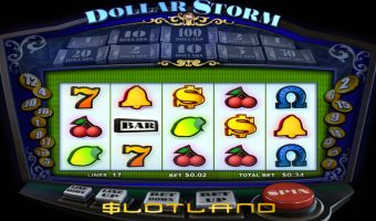 Slotland Launches New Dollar Storm Slot
