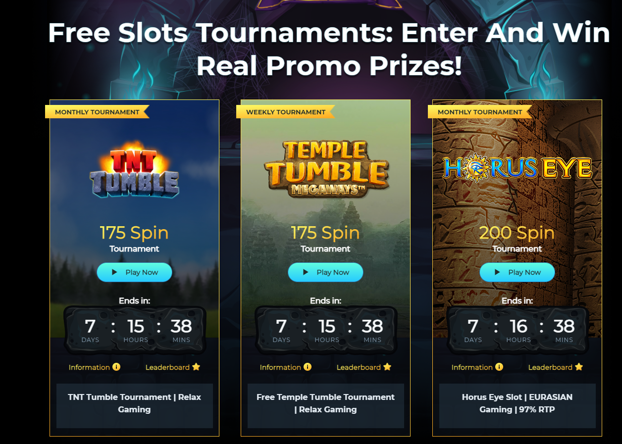 Slots Temple enhances Tournament offering with Relax Gaming content
