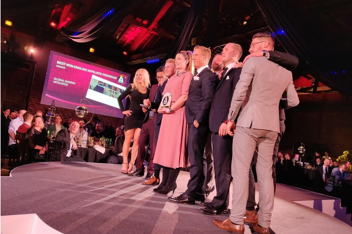 Global Gaming Affiliates wins big at the iGB Affiliate Awards