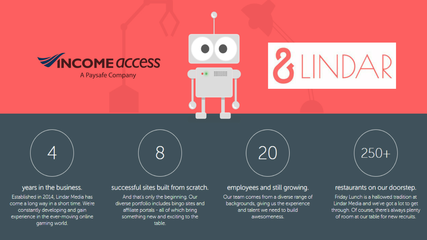 Lindar Media launches affiliate programme with Income Access