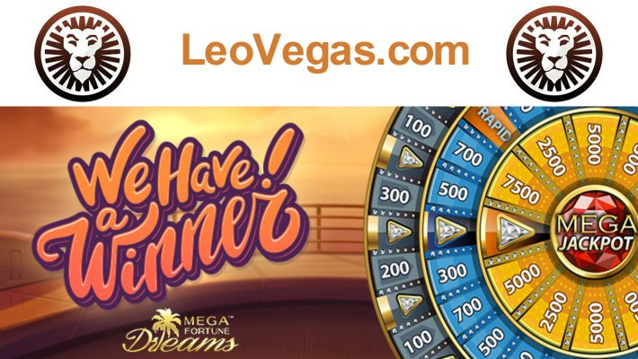 Mega win of over €5.5 million on mobile at LeoVegas.com!
