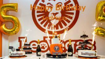 Happy Birthday LeoVegas