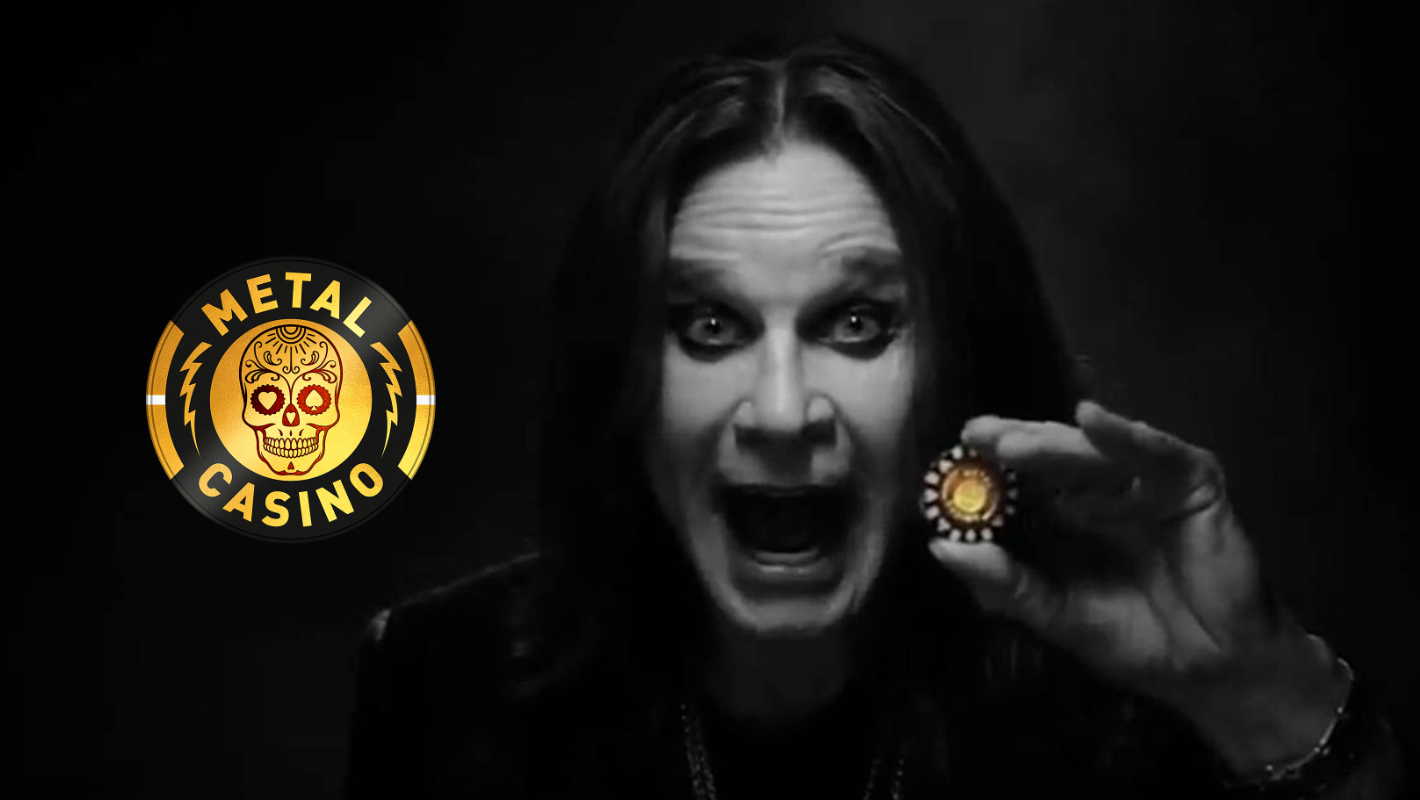 """Metal Casino goes """"All in"""" with Ozzy Osbourne as mega influencer in UK social media channels"""