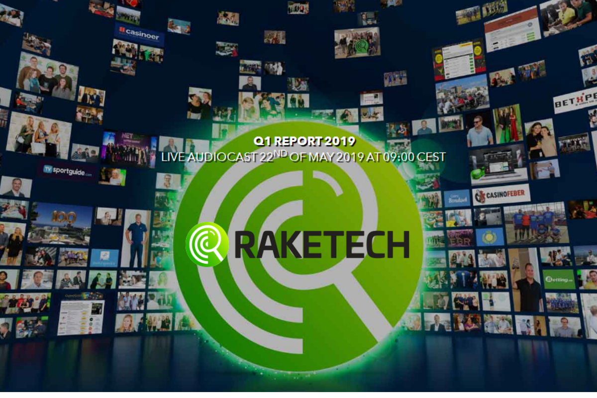 Raketech Interim report Q1 2019