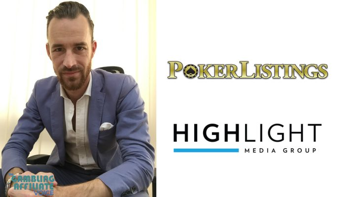 Affiliate Interviews: Sirp de Wit of PokerListings.com (HighLight Media Group)