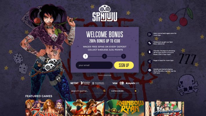Get your SpinJuju back – popular GiG powered casino operator celebrates re-launch