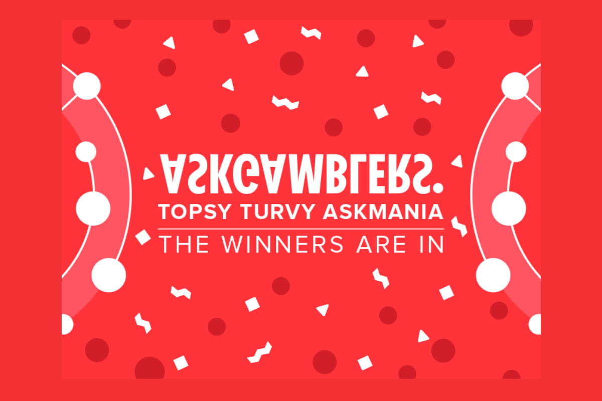 Topsy Turvy AskMania Affiliate Race Has Its Winners
