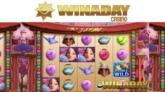 WinADay Casino's Final Birthday Present is a $20 Freebie for Exotic New Trip to Japan Slot