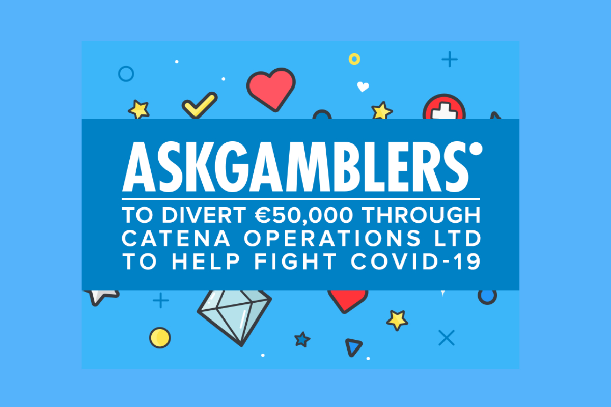 AskGamblers to Divert €50,000 Through Catena Operations Ltd to Help Fight COVID-19