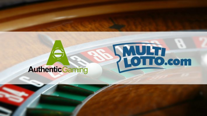 Authentic Gaming strikes exclusive Multilotto deal