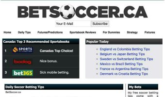 New Soccer Betting Tips Site Launched for Canadians