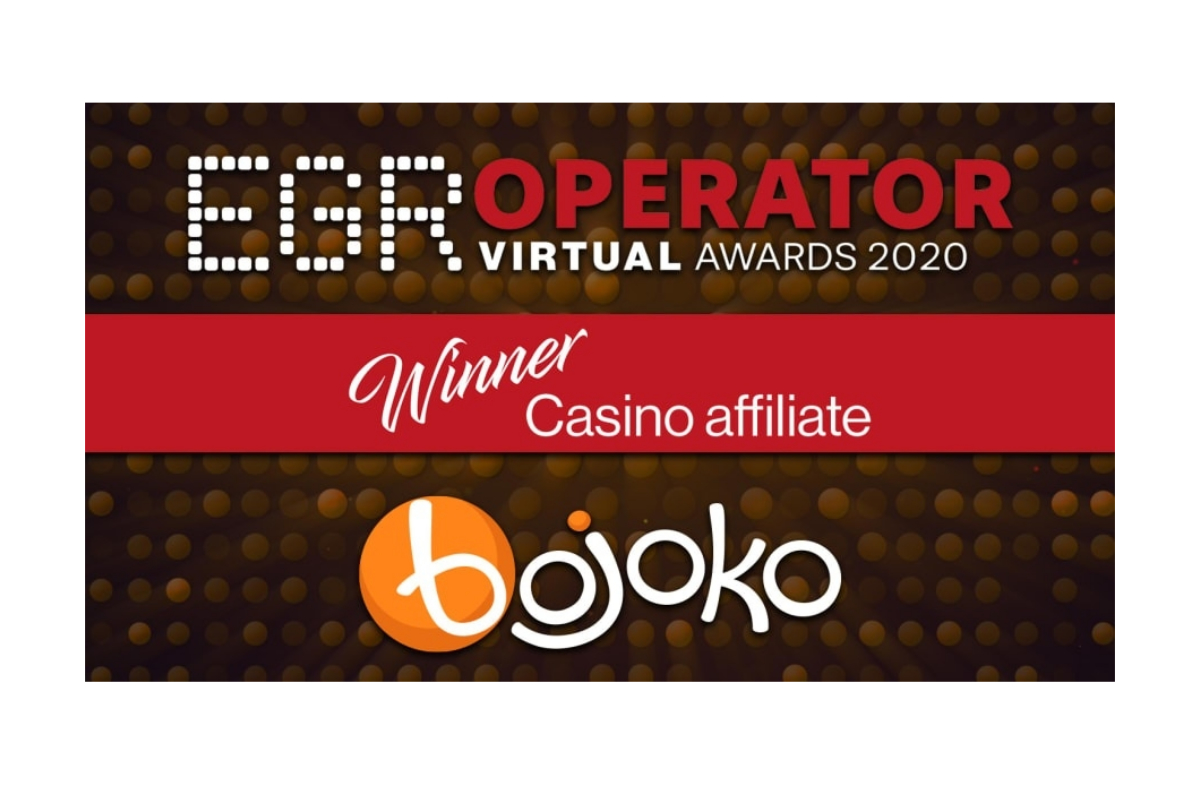 Bojoko crowned Casino Affiliate of the Year 2020