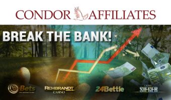 Break the bank together with Condor Affiliates