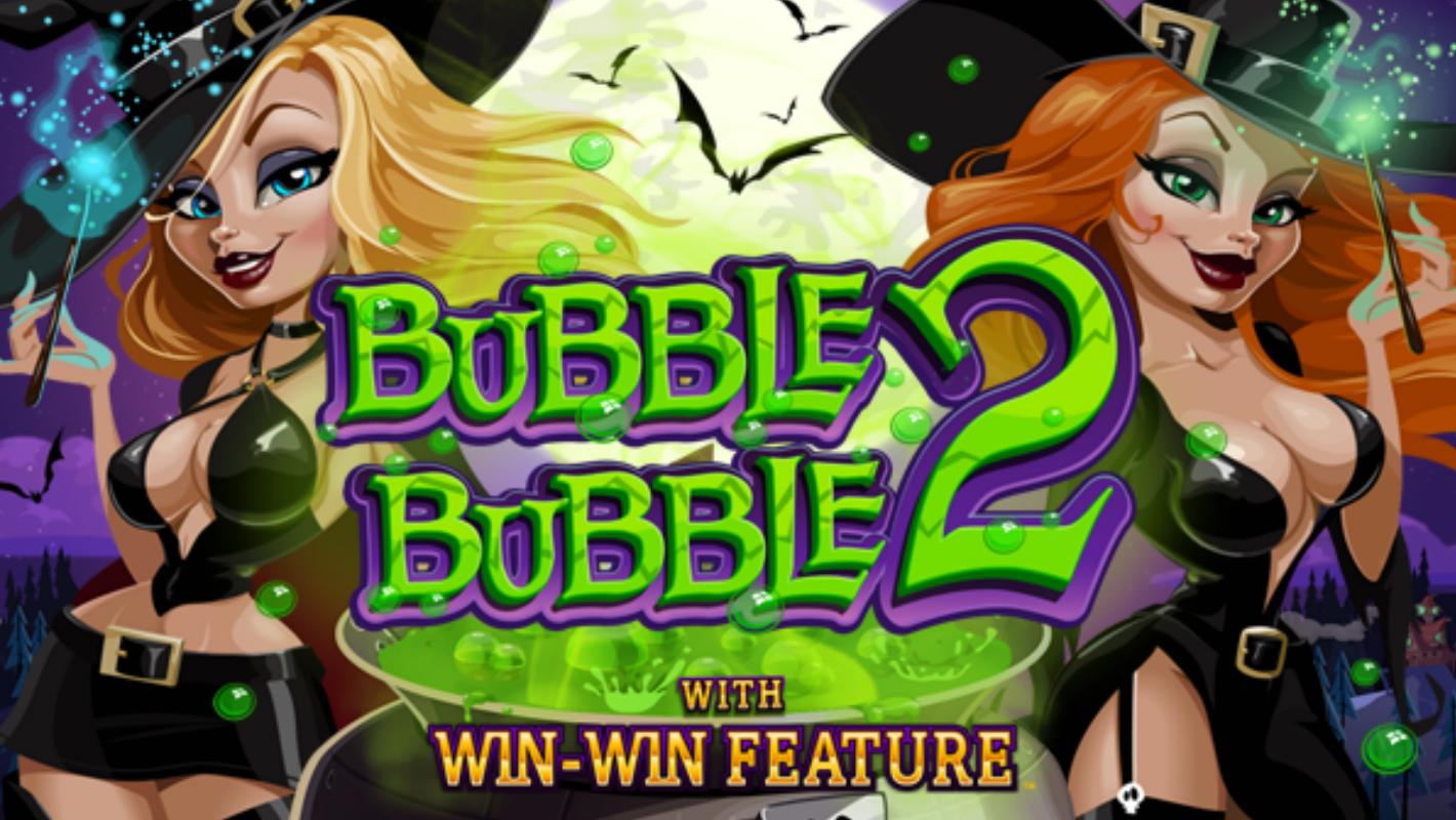 RTG's new Bubble Bubble 2 slot now at Slotastic
