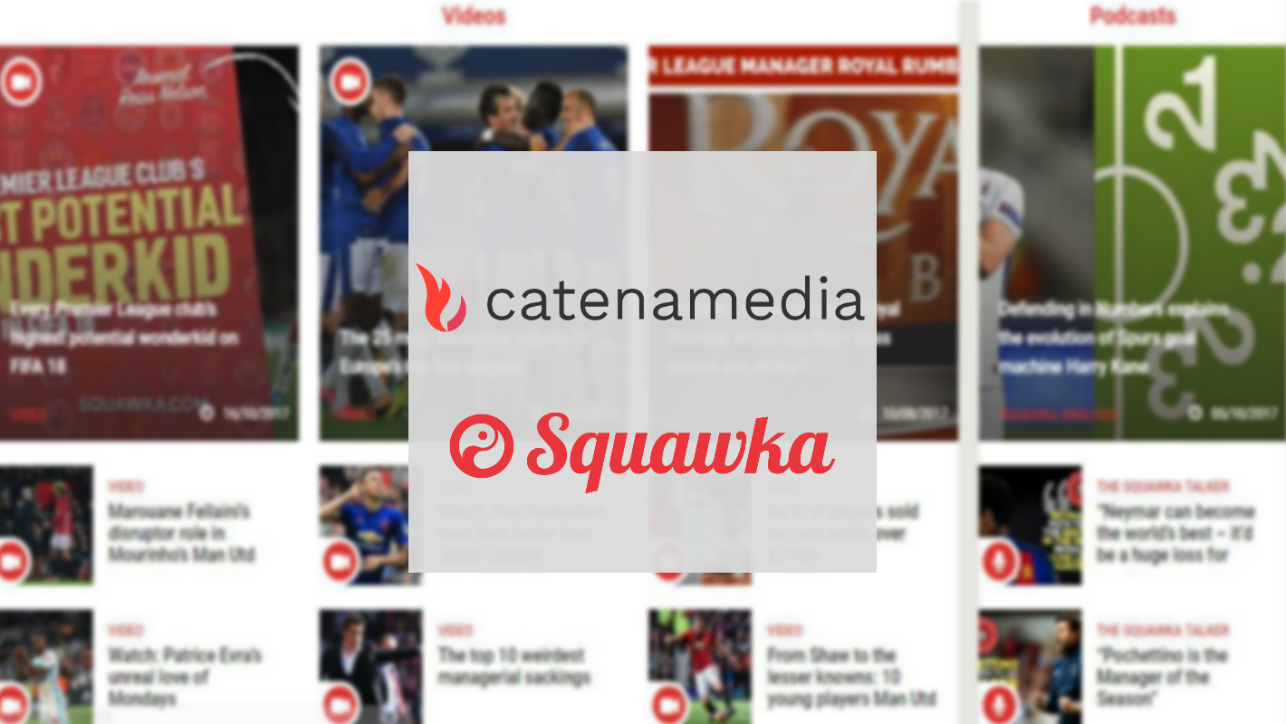 Catena acquires Squawka