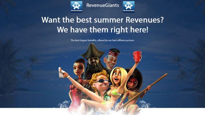 Revenue Giants In August