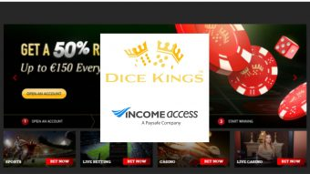 DiceKings Launches Managed Affiliate Programme with Income Access