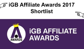 IGB AFFILIATE AWARDS 2017 SHORTLIST REVEALED