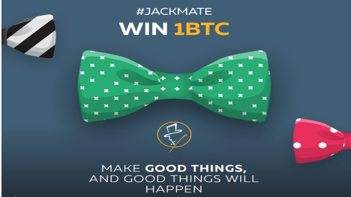 Win One Bitcoin Every Month With #JackMate