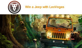 LeoVegas Affiliate News:Win a Jeep!!!