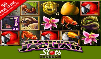 Slots Capital Launches Exotic New 'Jumping Jaguar' Slot from Rival Gaming