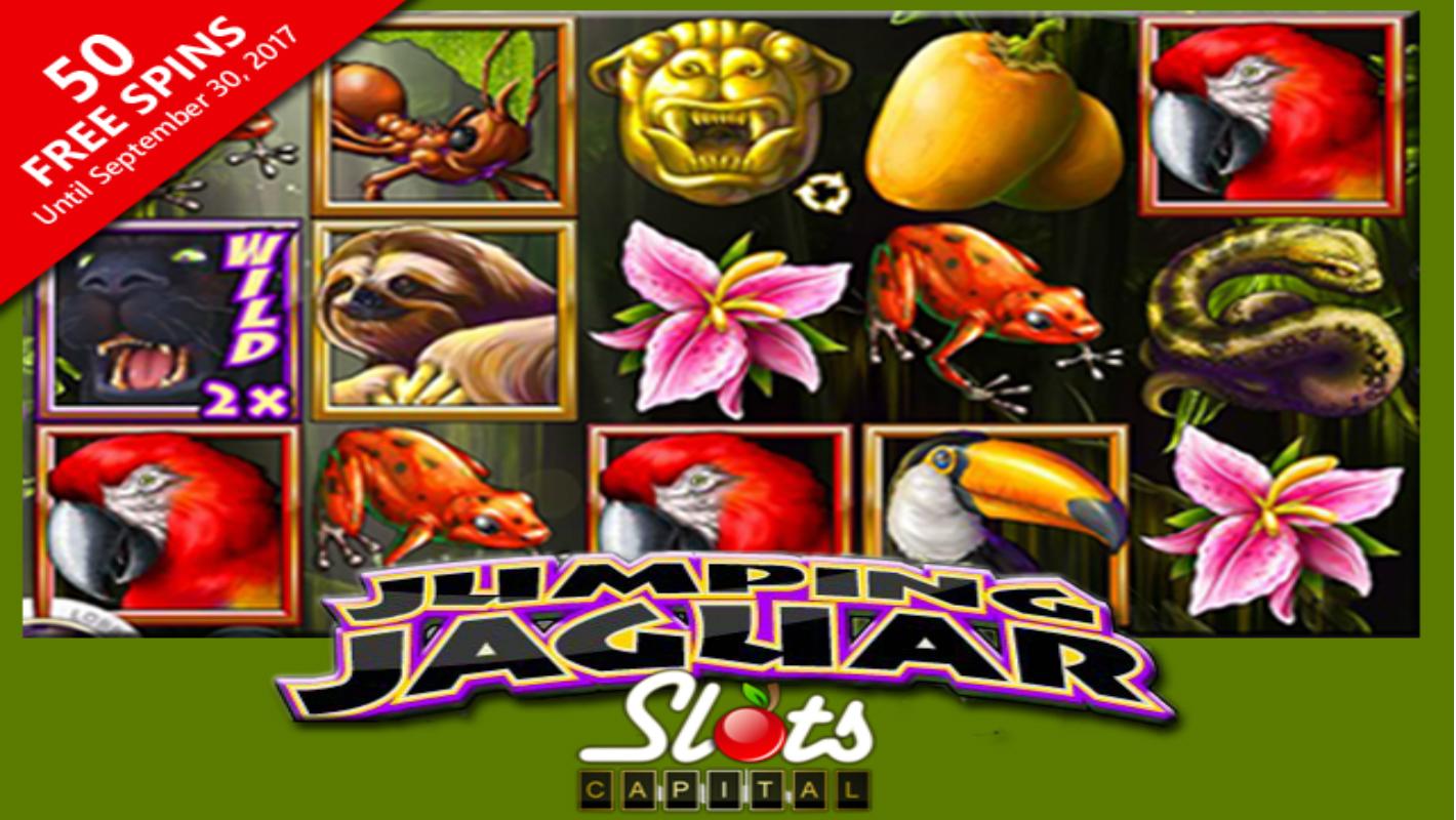 jumping jaguar 50 free spins