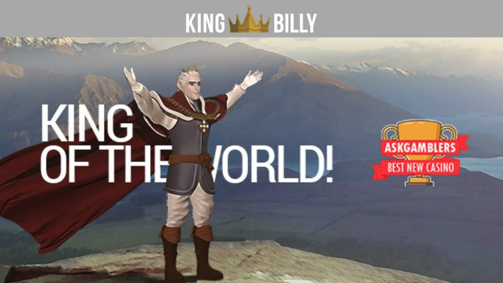 KING BILLY CASINO: ONE KING TO RULE THEM ALL AT THE ASKGAMBLERS AWARDS!