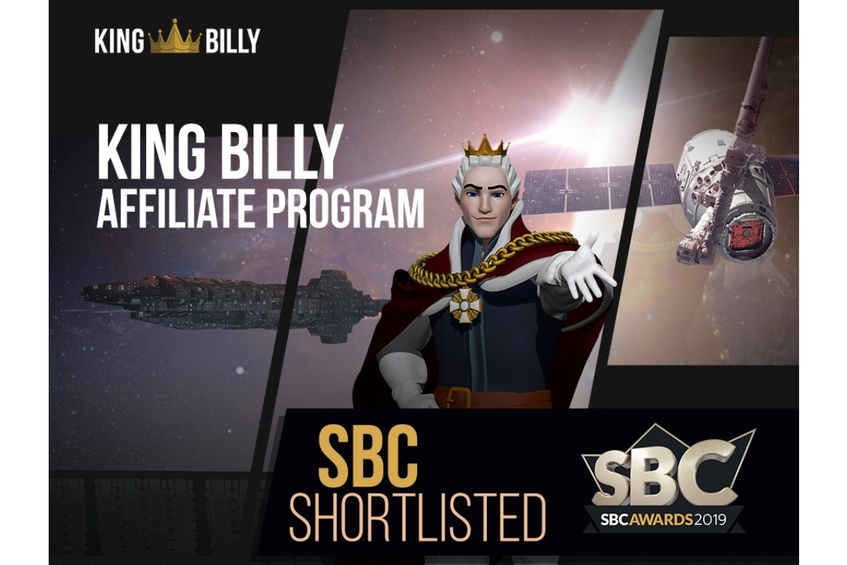 Three-peat for the King Billy Affiliate Program at the SBC Awards!