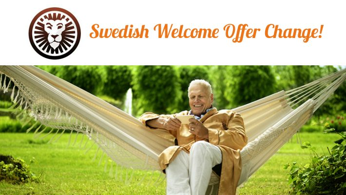 LeoVegas Affiliates: Swedish Welcome Offer Change!
