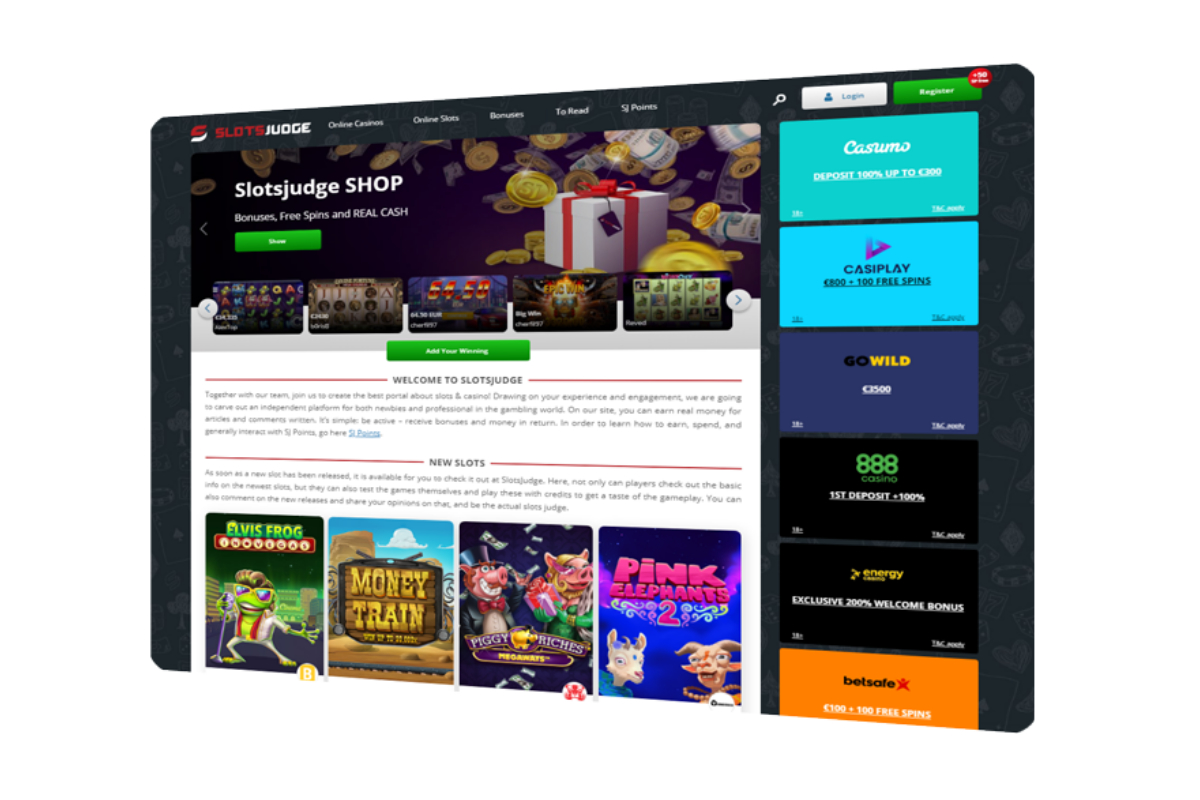 SlotsJudge.com - Your trusted advisor in the world of slots and gambling