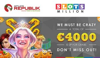 The Latest News from Affiliate REPUBLIK and SlotsMillion
