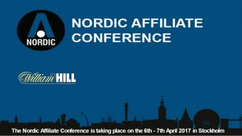 Nordic Affiliate Conference Announcing William Hill as Headline Sponsor