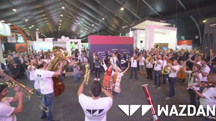 Wazdan's funky Flash Mob Video has gone viral